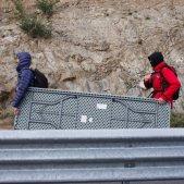 Tsunami Democràtic talla l'ap-7 a la Jonquera - Mireia Comas