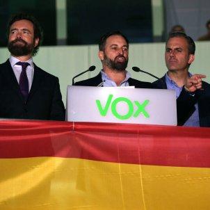 Abascal celebració VOX EFE