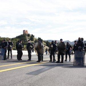 Tsunami tall Jonquera seguda policia francesa 2   Mireia Comas