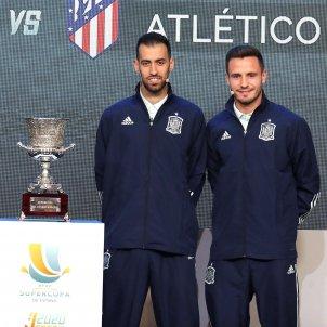 Ramos Gaya Busquets Saul Supercopa Espanya Arabia EFE