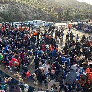 tall Jonquera Tsunami mossos  Mireia Comas