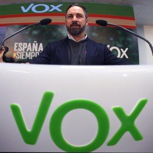 Abascal seu VOX EFE
