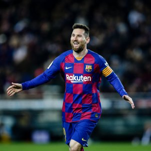 Leo Messi Barca sol EFE