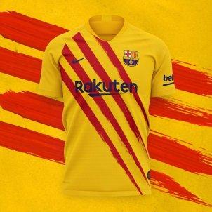 Barça samarreta senyera FC Barcelona