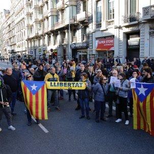 Concentració consolat francès Barcelona CDR - Sergi Alcàzar