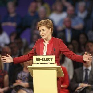 Nicola Sturgeon. Eleccions Escòcia