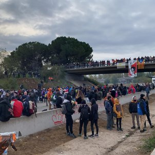 Tsunami democràtic tall AP 7 Adrià Rovira (3)