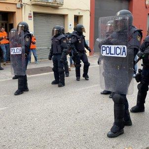 policia nacional manifestació tsunami democràtic salt girona Adrià Rovira