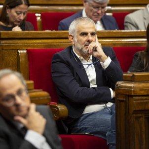 Carlos Carrizosa Lorena Roldan Ciutadans enfadats Sessio de Control Parlament - Sergi Alcàzar