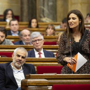 Lorena Roldan Carlos Carrizosa Ciutadans Sessió de Control Parlament - Sergi Alcàzar