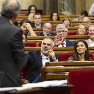 Carlos Carrizosa Lorena Roldan Ciutadans Quim Torra Sessio de Control Parlament - Sergi Alcàzar