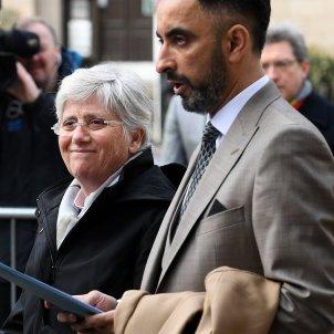 Clara Ponsatí i Aamer Anwar   EFE