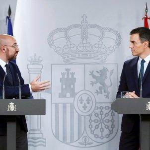 Charles Michel Pedro Sánchez Moncloa EFE