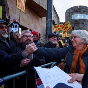 Clara Ponsatí Tribunal Edimburg EFE