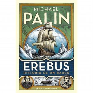 Portada del llibre 'Erebus', de Michael Palin