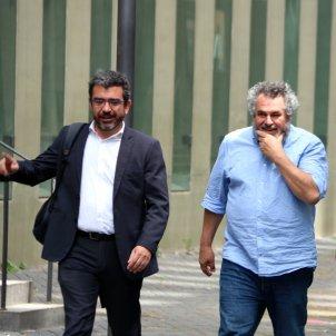 Victor Terradellas amb el seu advocat Francesc Sánchez ACN