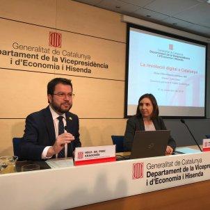 Pere Aragonès vicepresidència Generalitat Carlota Camps