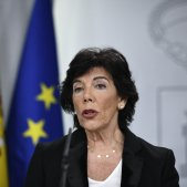 Isabel Celaá consell ministres moncloa Europa Press