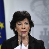 Isabel Celaá consell ministres moncloa Europa Press
