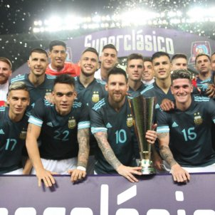 Argentina super classic brasil amistos leo messi @argentina