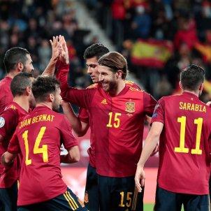 Ramos Bernat Sarabia Rodri Espanya Malta Classificacio Eurocopa 2020 efe