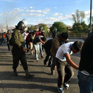 bolivia represion policial efe
