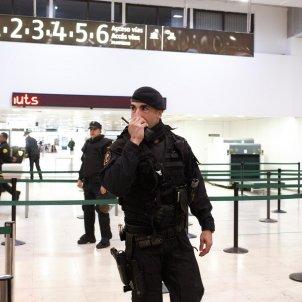 policia estacio sants bloqueig cdr mireia comas