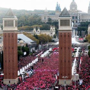 Cursa cancer de mama Barcelona - EFE