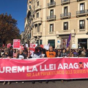 manifestació llei aragonès   EP