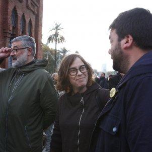 Carles Riera i Eulàlia Reguant judici torra llaços grocs   Mireia Comas