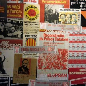 222 Museu d'Història de Catalunya, propaganda política de la Transició Democràcia Enfo Viquipèdia