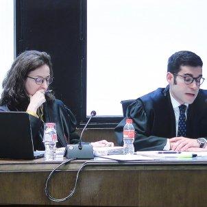 Advocats Vox judici Torra TSJC llaços grocs   Mireia Comas