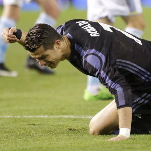 Cristiano Ronaldo Celta de Vigo Reial Madrid Efe
