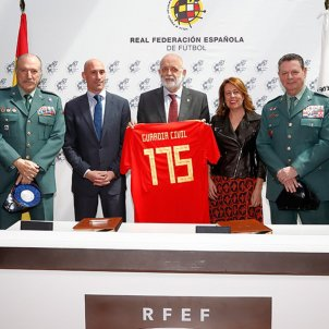 Rfef Guardia civil aniversari