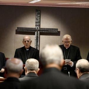 presidente Conferencia Episcopal Española, Ricardo Blázquez,  cardenal y arzobispo de Madrid, Carlos Osoro EFE
