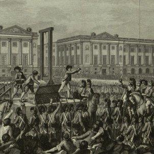 Execució a la guillotina de Lluís XVI (Isidore Stanislas Helman)