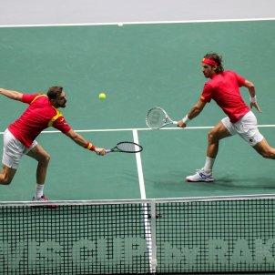 Marcel Granollers Feliciano Lopez Espanya Russia Copa Davis EFE