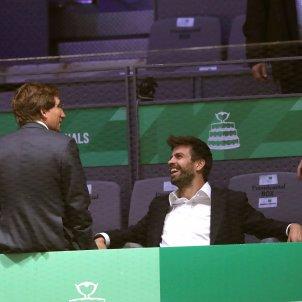 Gerard Pique Copa Davis EFE