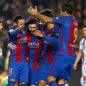 Celebracio Barça EFE