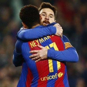 Messi neymar barça EFE