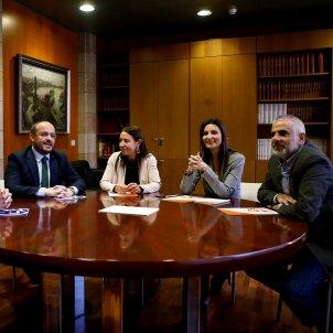 Reunió Ciutadans PP Parlament Roldán Fernández - EFE