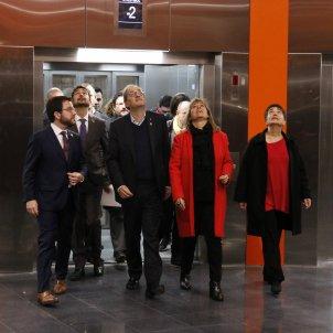 inauguracio metro l10 ciutat justicia marin torra aragones acn