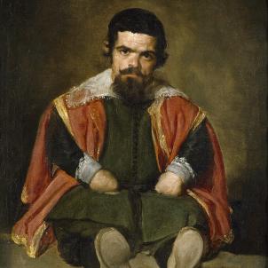 El bufó Sebastian de Morra, pintat per Velazquez (1645). Font Viquipedia