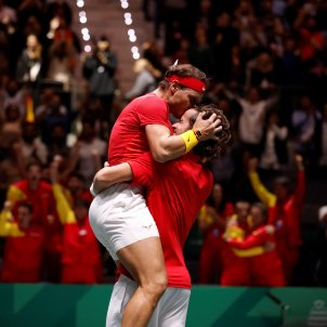 Rafa Nadal Feliciano Lopez semifinals Copa Davis EFE