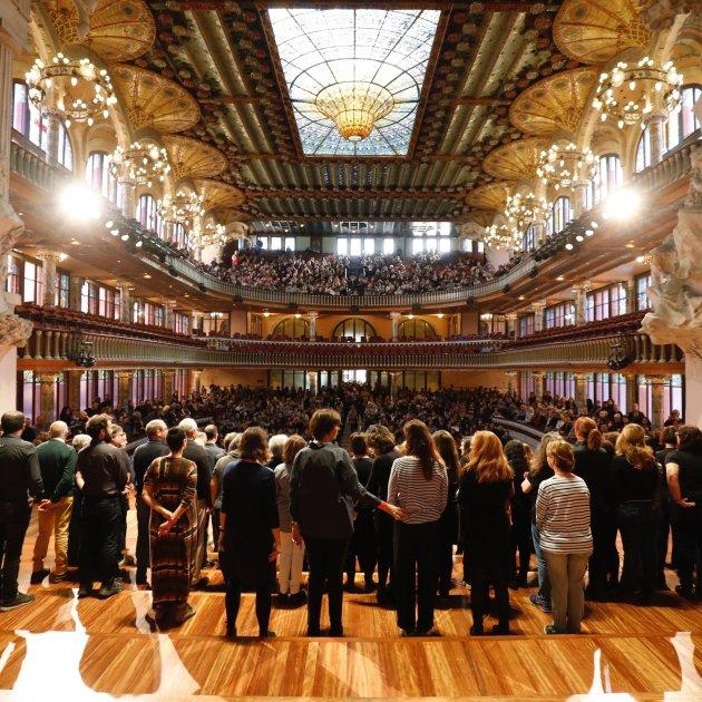 Palau de la Música Catalana jornada portes obertes Europa Press