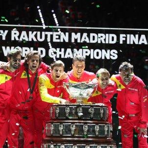 Rafa Nadal bruguera bautista caareno feliciano granollers espanya campiona copa davis efe