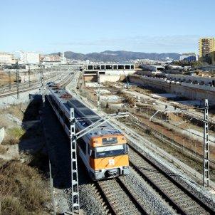 tren rodalies estació sagrera ACN