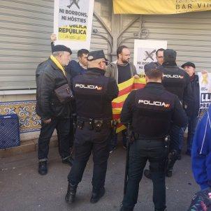 manifestacio pais valencia rei felip vi - @Josep_Barbera