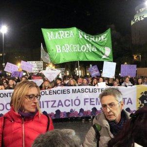 manifestacio violencia masclista Barcelona - ACN