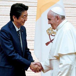 papa francesc emperador japo naruhito efe